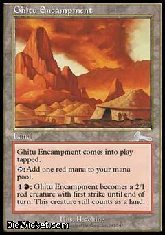 Ghitu Encampment, Urza's Legacy, Magic the Gathering
