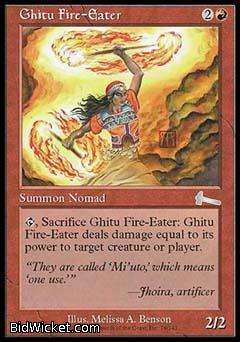 Ghitu Fire-Eater, Urza's Legacy, Magic the Gathering