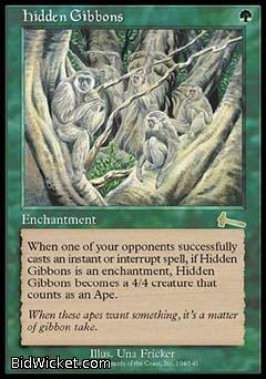 Hidden Gibbons, Urza's Legacy, Magic the Gathering