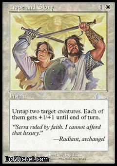Hope and Glory, Urza's Legacy, Magic the Gathering
