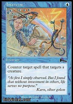 Intervene, Urza's Legacy, Magic the Gathering