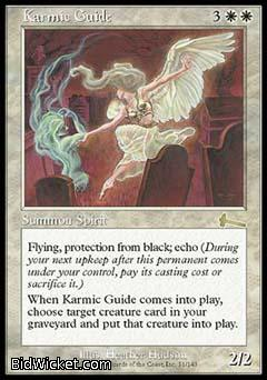 Karmic Guide, Urza's Legacy, Magic the Gathering