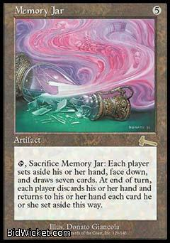 Memory Jar, Urza's Legacy, Magic the Gathering