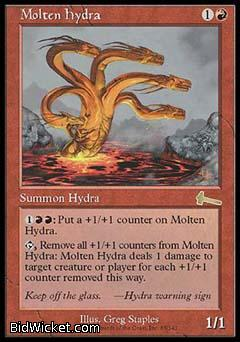 Molten Hydra, Urza's Legacy, Magic the Gathering