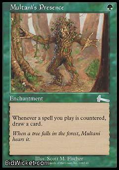 Multani's Presence, Urza's Legacy, Magic the Gathering