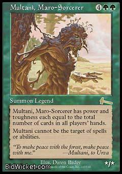 Multani, Maro-Sorcerer, Urza's Legacy, Magic the Gathering