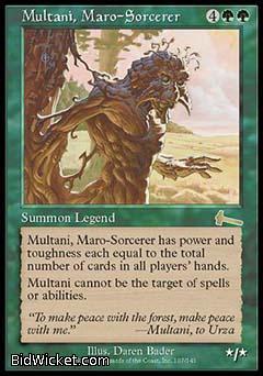 Multani, Maro-Sorcerer, Urza's Legacy, Magic the Gathering