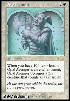 Opal Avenger, Urza's Legacy, Magic the Gathering