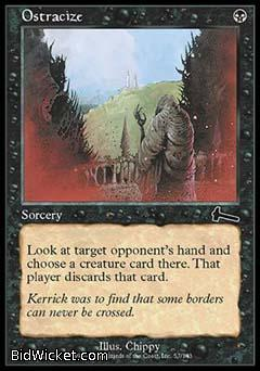 Ostracize, Urza's Legacy, Magic the Gathering