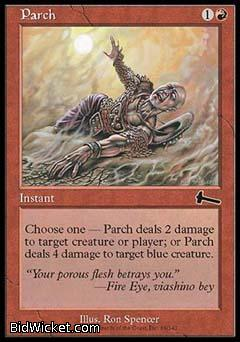 Parch, Urza's Legacy, Magic the Gathering