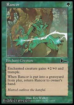 Rancor, Urza's Legacy, Magic the Gathering
