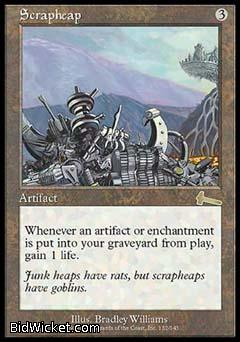 Scrapheap, Urza's Legacy, Magic the Gathering
