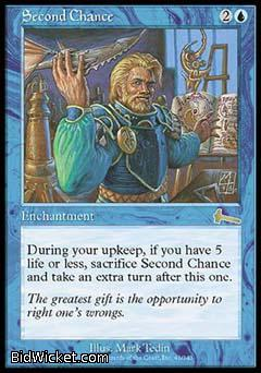 Second Chance, Urza's Legacy, Magic the Gathering