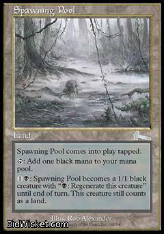 Spawning Pool, Urza's Legacy, Magic the Gathering