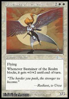 Sustainer of the Realm, Urza's Legacy, Magic the Gathering