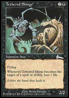 Tethered Skirge, Urza's Legacy, Magic the Gathering