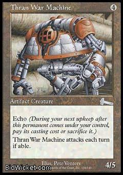 Thran War Machine, Urza's Legacy, Magic the Gathering
