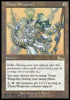 Thran Weaponry, Urza's Legacy, Magic the Gathering