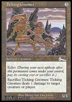 Ticking Gnomes, Urza's Legacy, Magic the Gathering