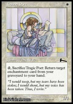 Tragic Poet, Urza's Legacy, Magic the Gathering