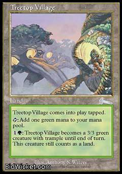 Treetop Village, Urza's Legacy, Magic the Gathering