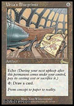 Urza's Blueprints, Urza's Legacy, Magic the Gathering