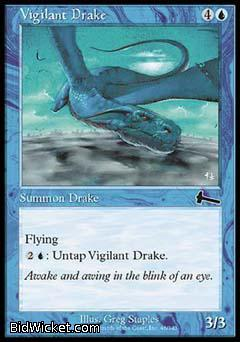 Vigilant Drake, Urza's Legacy, Magic the Gathering