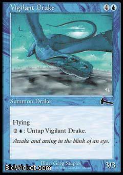 Vigilant Drake, Urza's Legacy, Magic the Gathering