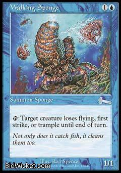 Walking Sponge, Urza's Legacy, Magic the Gathering