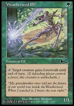 Weatherseed Elf, Urza's Legacy, Magic the Gathering