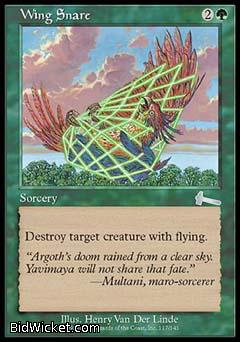 Wing Snare, Urza's Legacy, Magic the Gathering