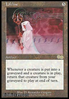 Lifeline,Urza's Saga, Magic the Gathering