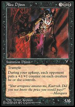 Aku Djinn, Visions, Magic the Gathering