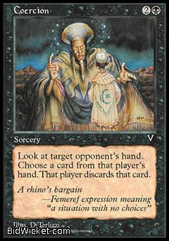 Coercion, Visions, Magic the Gathering