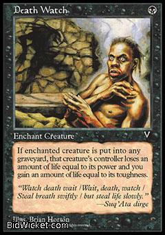 Death Watch, Visions, Magic the Gathering