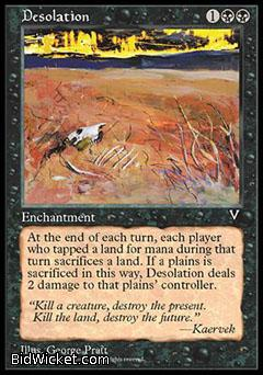 Desolation, Visions, Magic the Gathering