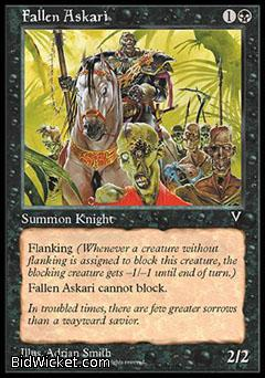 Fallen Askari, Visions, Magic the Gathering