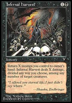 Infernal Harvest, Visions, Magic the Gathering
