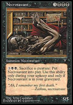 Necrosavant, Visions, Magic the Gathering