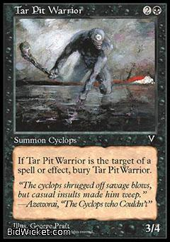 Tar Pit Warrior, Visions, Magic the Gathering