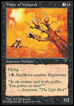 Wake of Vultures, Visions, Magic the Gathering