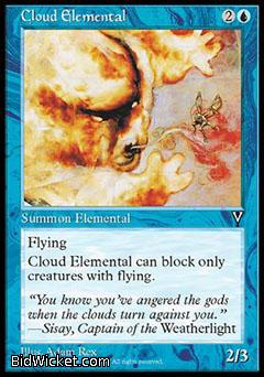 Cloud Elemental, Visions, Magic the Gathering