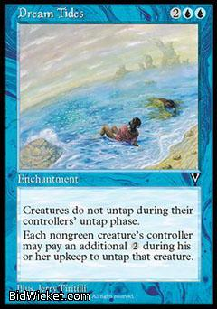 Dream Tides, Visions, Magic the Gathering