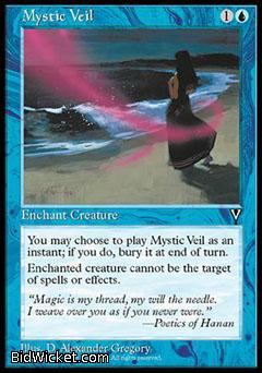 Mystic Veil, Visions, Magic the Gathering