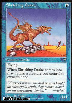 Shrieking Drake, Visions, Magic the Gathering