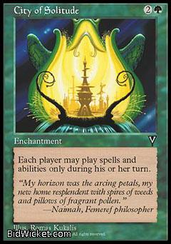 City of Solitude, Visions, Magic the Gathering