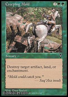 Creeping Mold, Visions, Magic the Gathering