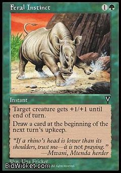 Feral Instinct, Visions, Magic the Gathering
