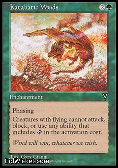 Katabatic Winds, Visions, Magic the Gathering