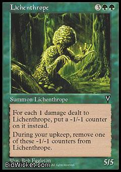Lichenthrope, Visions, Magic the Gathering